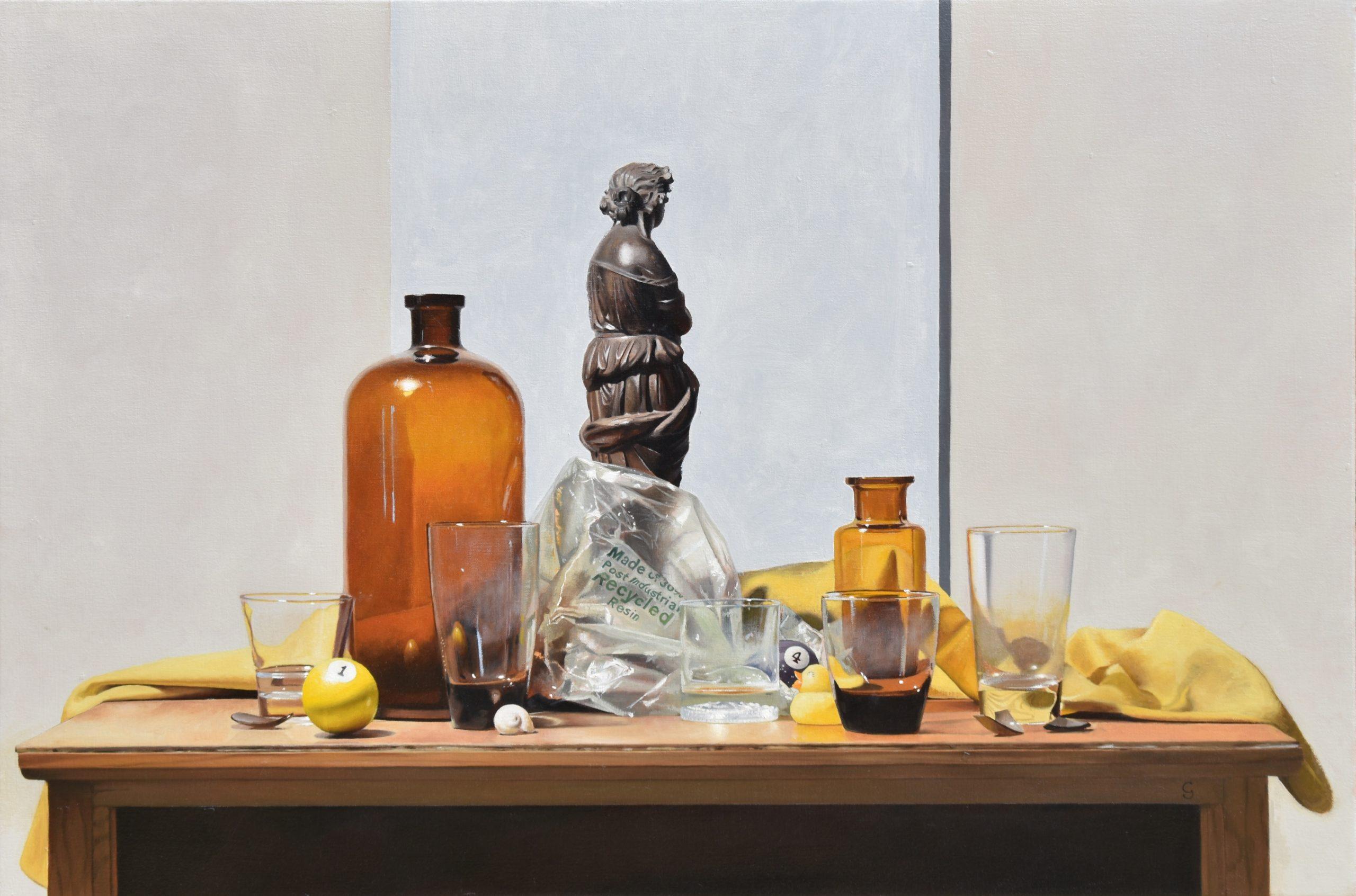 Focus, 24″ x 36″, Oil on Canvas